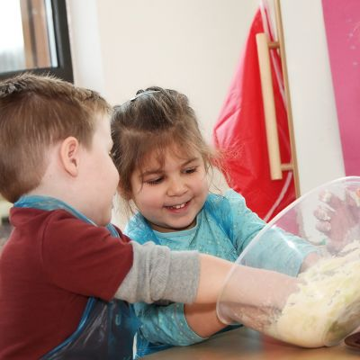Basic Cooking Skills for pre-school children